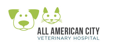 Logo for All American City Veterinary Hospital Roseville, California
