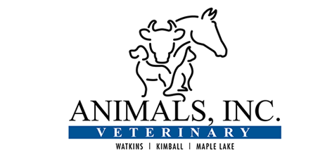 Logo for Veterinarians in Kimball, Maple Lake and Watkins, MN | Animals Inc. Veterinary