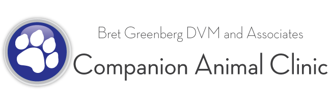 Logo for Bret Greenberg DVM & Associates Companion Animal Clinic	 | Columbia, PA
