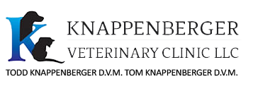 Logo for Knappenberger Veterinary Clinic Olathe, Kansas