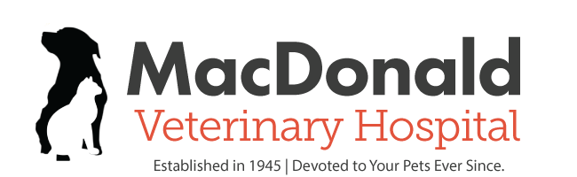 Logo for MacDonald Veterinary Hospital, Inc.