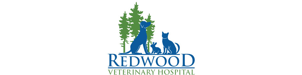 Logo for Redwood Veterinary Hospital Visalia, California