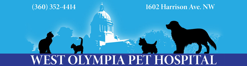 Logo for West Olympia Pet Hospital Olympia, Washington